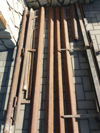 Vând stâlpi cornier , rectangulară și țeavă rotundă