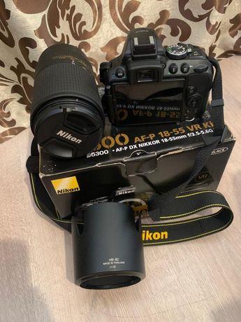 Nikon D5300 Nou / Nikkor 70-300mm 4.5-5.6E