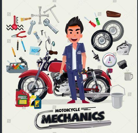 Mecanic Scutere, Motociclete, Atv.
