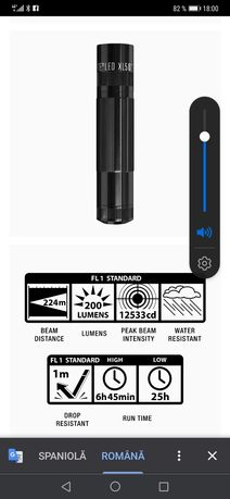 Lanterna Mag-Lite Led XL50