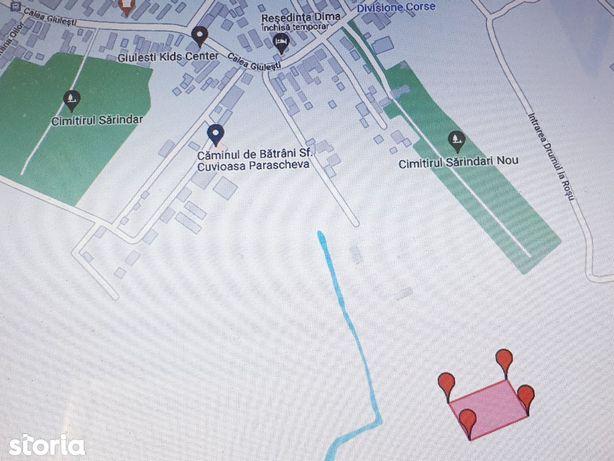 Vanzare teren intravilan,Drumul Coasta Magurii-Giulesti,sect 6