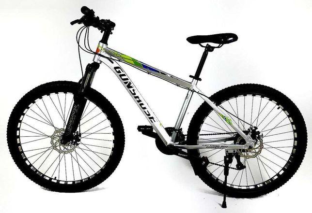 Алюминиевый велосипед Gunsrose 27.5 | Скидка 15% | Цвет: серый