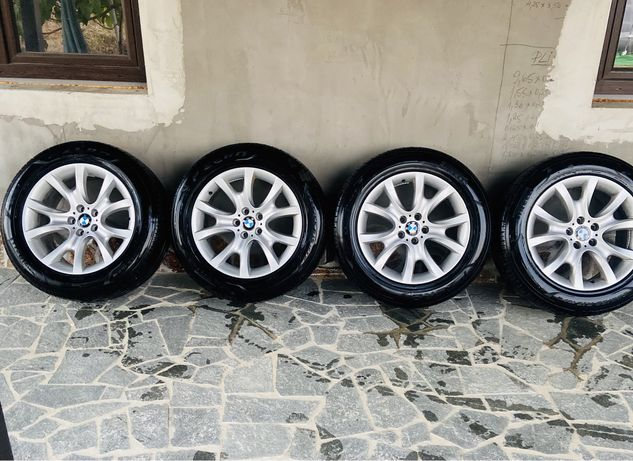 Jante BMW X5, X6 pe 19' Originale cu anvelope de Vara Pirelli