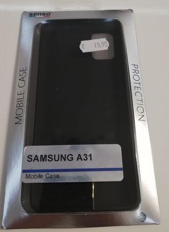 Кейс за Samsung A31 (черен)