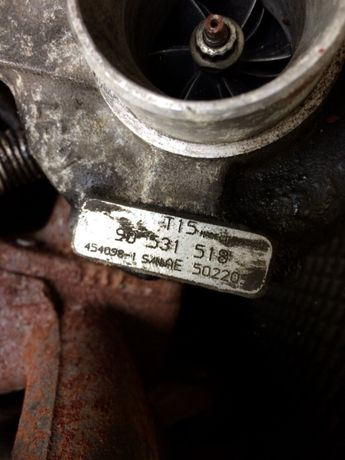 vand turbo opel 2.0dti 504071262 ,