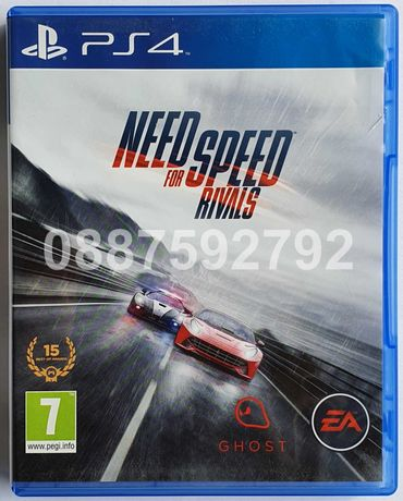 Перфектен диск с играта Need For Speed NFS Rivals PS4 Playstation 4