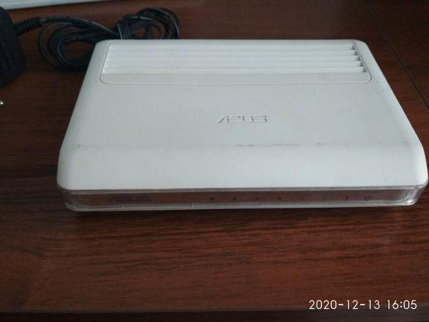 ADSL модем ASUS, 4 портовый