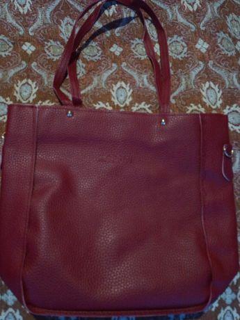 Комплект кожени чанти