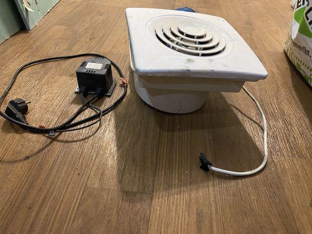 Вентилятор электрический, работает!