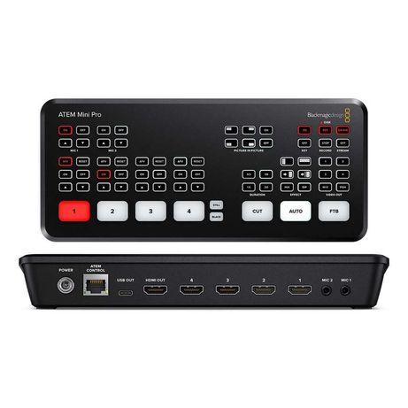 Blackmagic ATEM Mini Pro Switcher Video HDMI