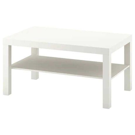 Журнальный стол Икеа, белый 90x55 см