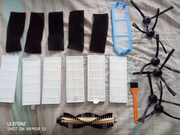 комплект филтри и четки за робот ILIVE A4s A40 А6 А4
