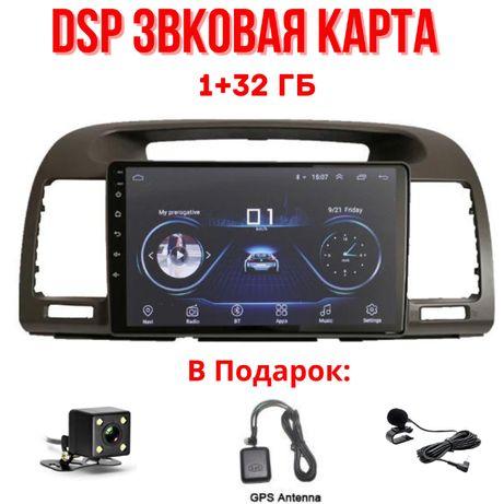 Акция! 1+32+DSP звук!!! Штатный андроид для Камри 30-35/Camry 30-35