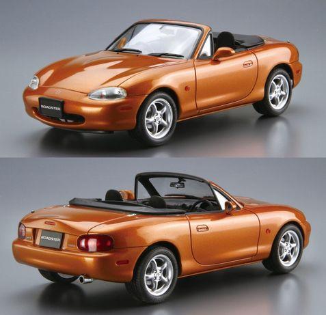 KIT Macheta 1:24 Mazda MX-5 Miata NB soft + hard top CITITI DESCRIEREA