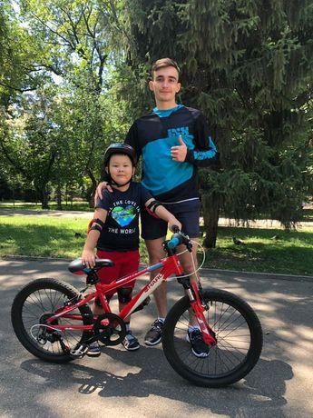 Вело инструктор, вело тренер, обучение езде на велосипеде, велошкола !