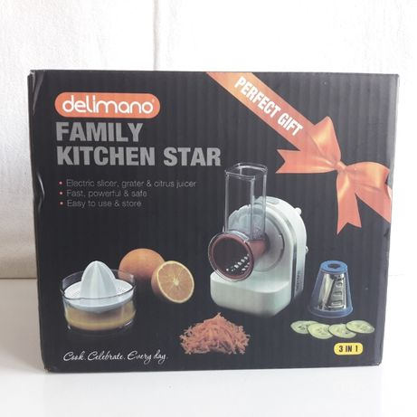 Robot de bucatarie Delimano, Family Kitchen Star, nou