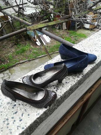 Нови различни чифтове на снимки обувки 37 номер