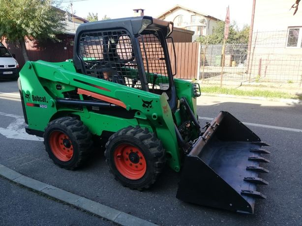 Mini incarcator BOBCAT s510 an 2014
