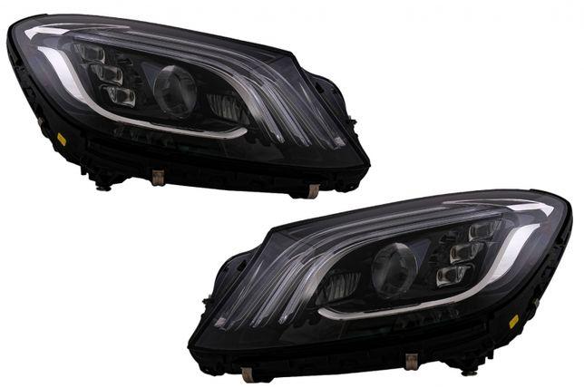 Faruri Full LED Semnalizare Dinamica MERCEDES S-Class W222 OEM Design