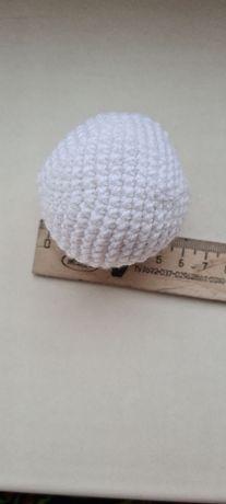 Снежки, шарики крючком