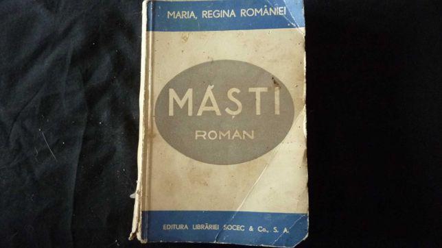 "roman ""Măști"", Regina Maria a României"