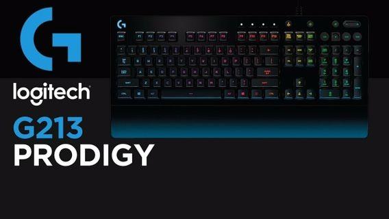 Tastatura Gaming Logitech G213 Prodigy Gaming 920-008093 noua sigilata