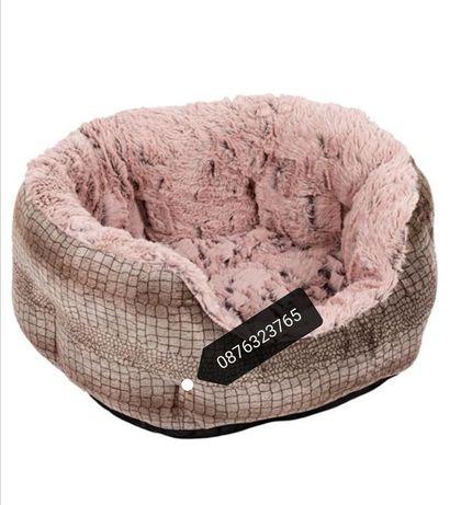 Меко и топло легло за куче или котка домашни любимци