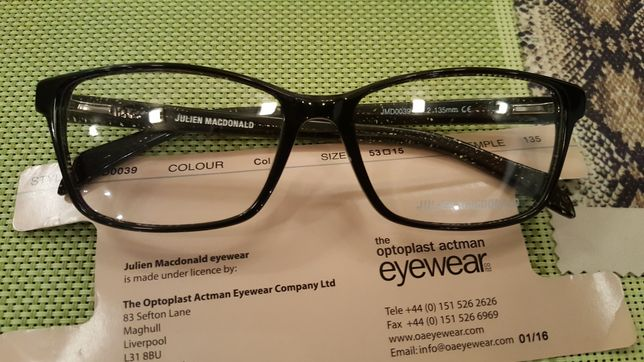 Rame ochelari Julien Macdonald superbe.