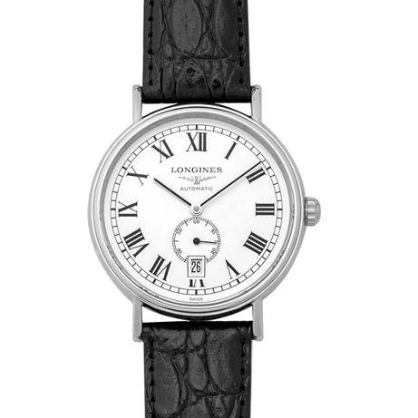 Часовник Longines Presence Automatic 40 White Dial