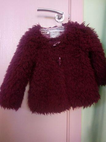 Пухкаво палтенце