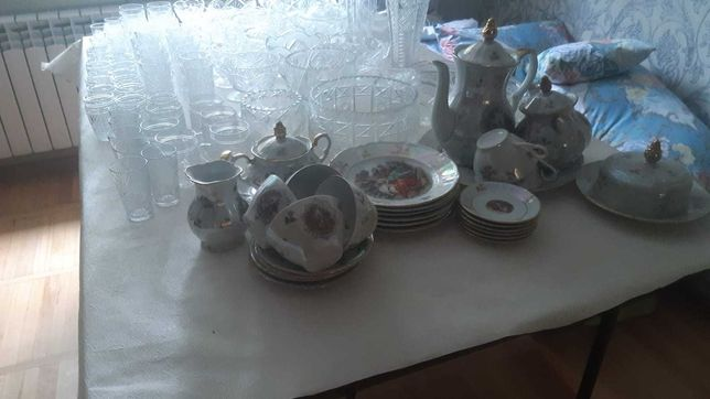 Раритетный чайный сервиз МАДОННА