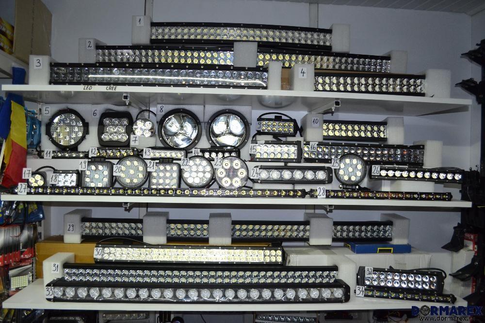 Proiectoare LEDuri auto off road - LED BAR - Proiector LED bec halogen