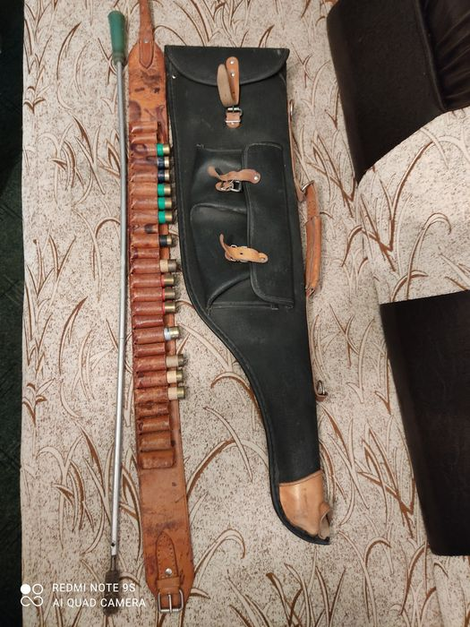 Cartușieră,husa arma,și vergea Bucuresti - imagine 1