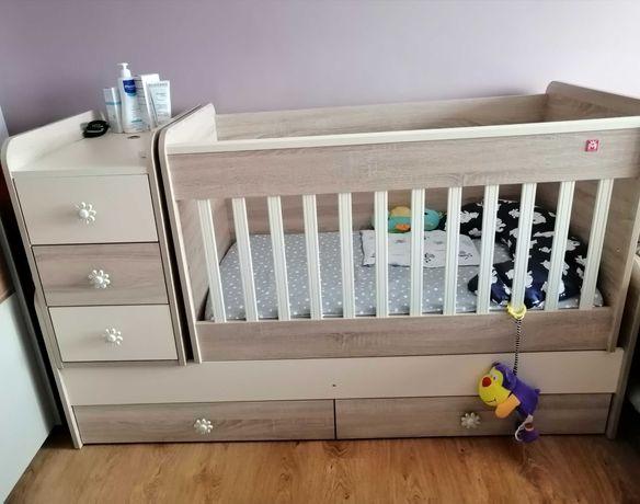 Трансформиращо детско легло 3в1 + матрак..