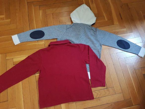 Детски блузки CALVIN KLEIN ( оригинална) и ZARA за 5-6 г.момче