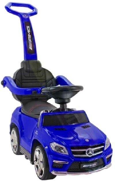 Masinuta cu maner pentru copii 3 in 1 Mercedes GL63 AMG PREMIUM #Blue Oradea - imagine 1