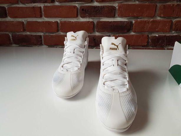 Adidas Puma _ Eskiva Mid EVO Unisex _White & Black_Modele deosebite