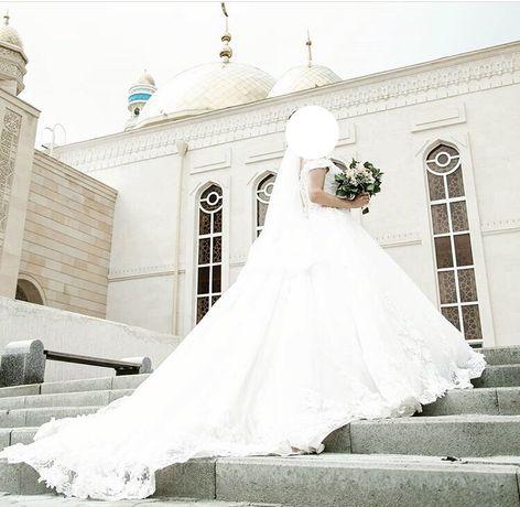 Свадебное платье ручная работа!
