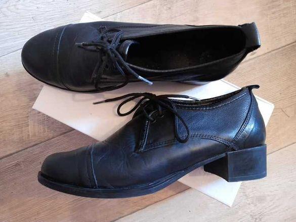 Дамски обувки естествена кожа, №37, ПОСЛЕДНА ЦЕНА!