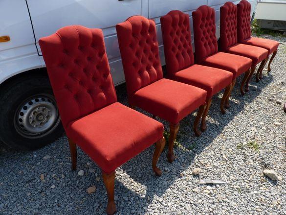 Стилни трапезни столове внос от Холандия