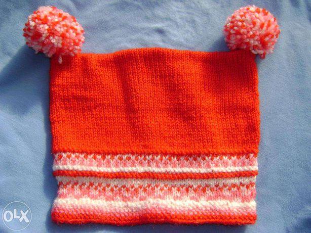 Căciuli tricotate manual