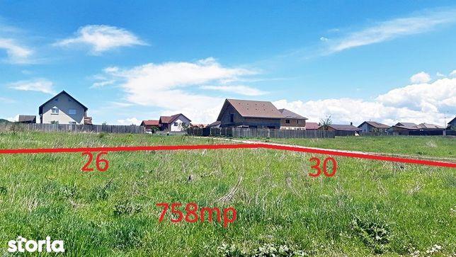 Sanpetru, teren de 758mp, zona de case noi, 31000 euro