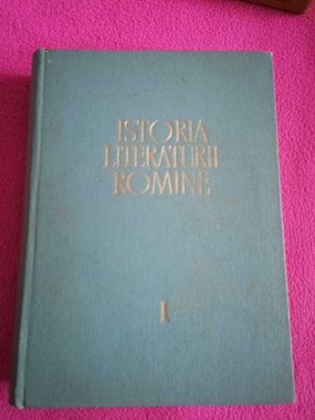 Istoria literaturii române, editată de Academia RSR,anii 1964,1968,197