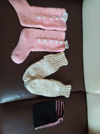 Ръчно плетени терлици
