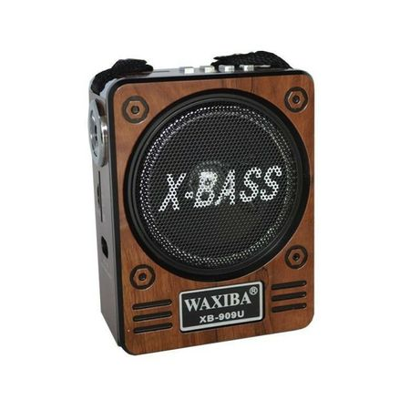 Radio portabil,USB,TF/SD,FM,MP3,lanterna,Jack 3.5 mm,autonomie 5h,nou