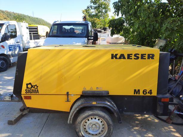 Vand motocompresor Kaeser M64