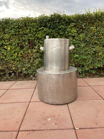 Cazan țuică de inox cu capacitate de 90 de litri