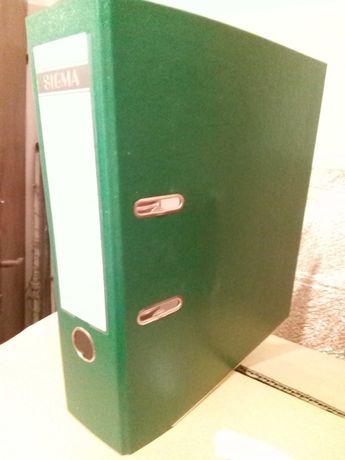 Класьори Сигма нови,зелени,с мет.машинка, немски