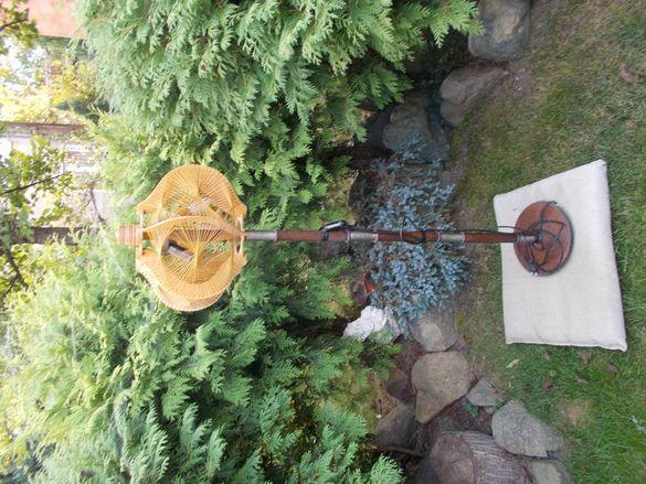 Стар стилен стоящ лампион , висок