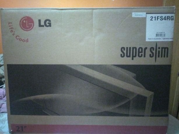 Продаём телевизор новый в коробке пульт и антенна родная марка LG